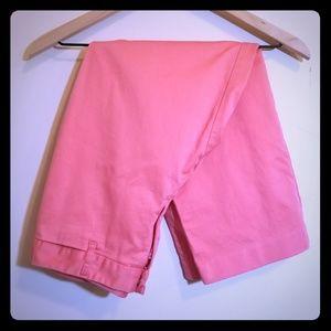 Crop Salmon Pink Pants Size 4